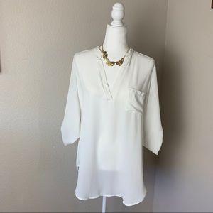 Lush blouse women's Sz L